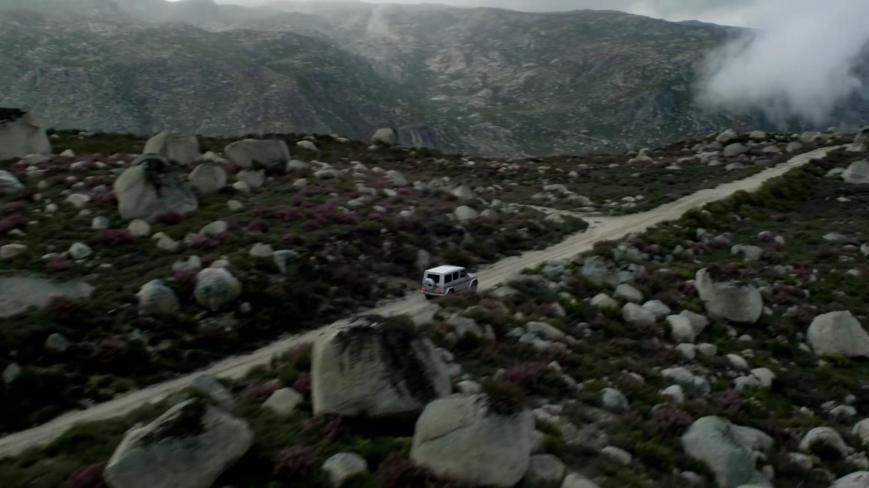 Abenteurer Mike Horn Mercedes Benz G-Klasse