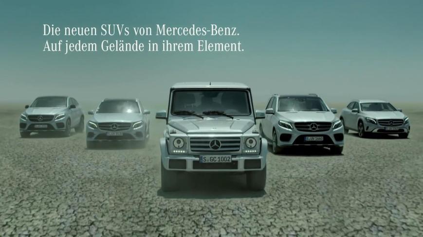 Die neuen SUVs von Mercedes Benz