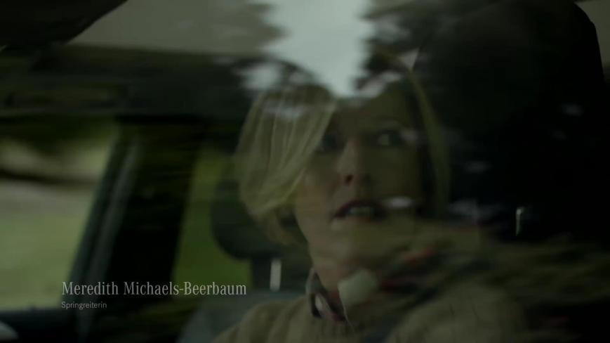 Springreiterin Meredith Michaels-Beerbaum mit dem GLE -