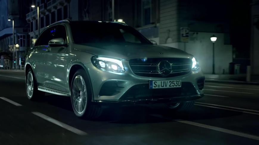 Supermodel Petra Němcová Mercedes Benz GLC